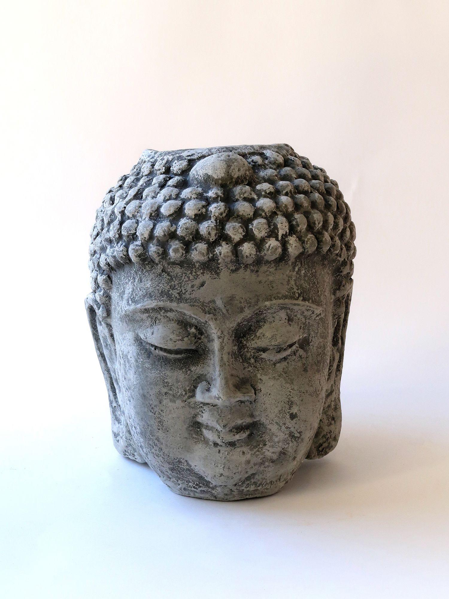 Бетонный горшок Будда